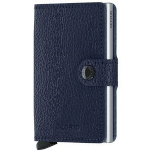 Secrid Miniwallet Vegetable Tanned in Navy