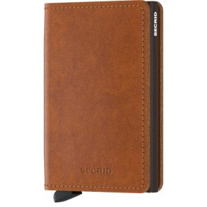 Secrid Slimwallet Original in Cognac