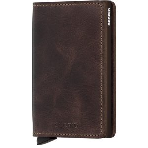 Secrid Slimwallet Vintage in Chocolate