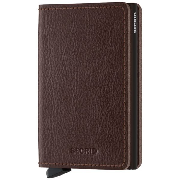 Secrid Slimwallet Vegetable Tanned in Espresso
