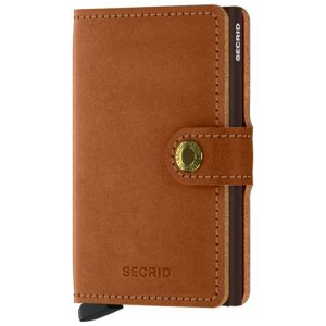 Secrid Miniwallet Original in Cognac-Brown