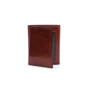 Bosca Trifold Wallet with ID in Old Leather