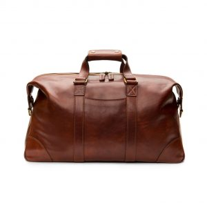 Bosca Dolce Duffle Bag in Dark Brown