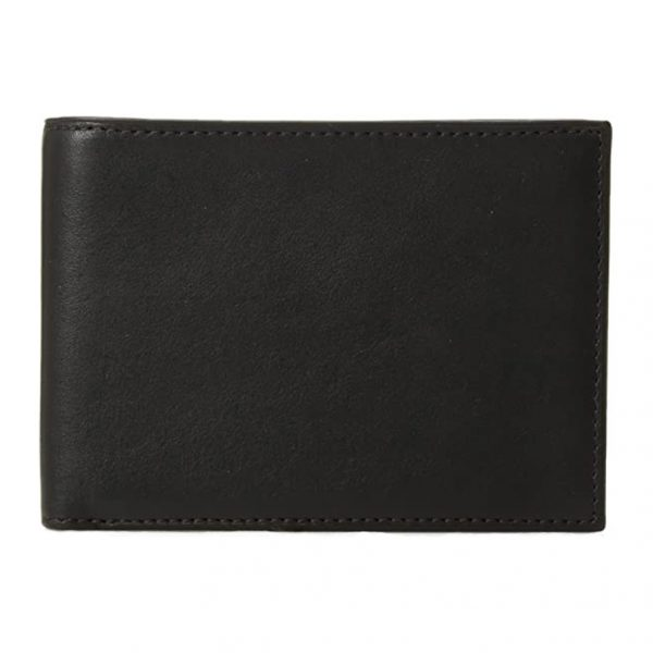 Bosca Bifold Credit Wallet with ID Passcase in Nappa Vitello