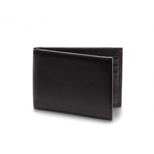 Bosca Small Bifold Wallet in Nappa Vitello