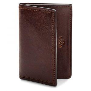 Bosca Full Gusset Card Case in Dolce