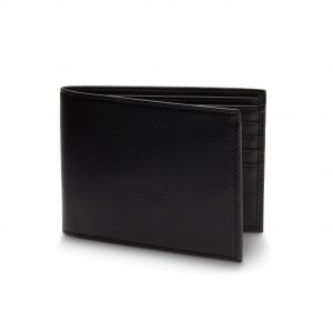 Bosca Bifold Wallet with ID Flap in Nappa Vitello