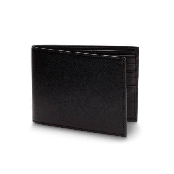 Bosca Bifold Wallet with ID Flap in Nappa Vitello