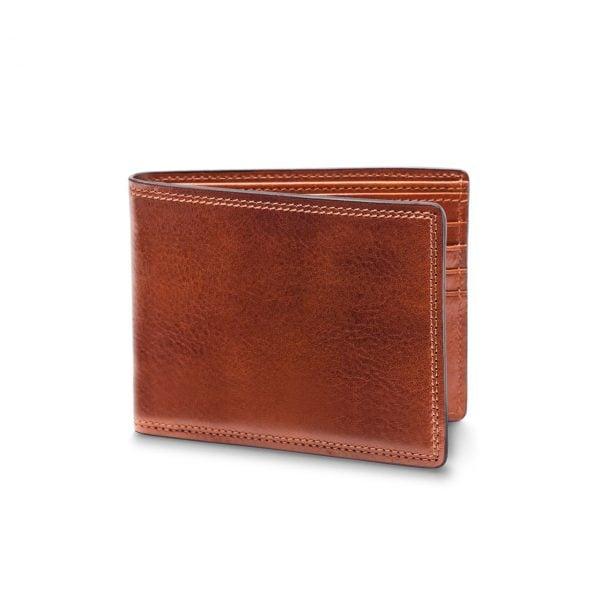 Bosca 8 Pocket Deluxe Wallet in Dolce