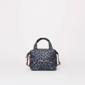 MZ Wallace Small Sutton in Blue Leopard