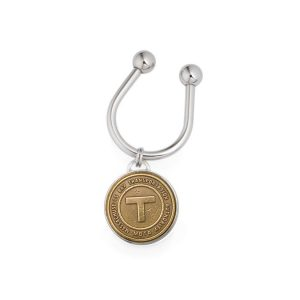 Tokens & Icons Boston Transit Token Key Ring
