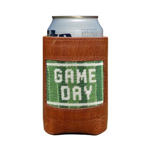 Smathers & Branson Game Day Needlepoint Can Cooler