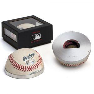 Tokens & Icons Boston Red Sox Game Used Baseball Bottle Opener