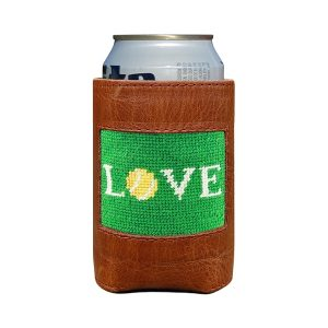 Smathers & Branson Love All Needlepoint Can Cooler