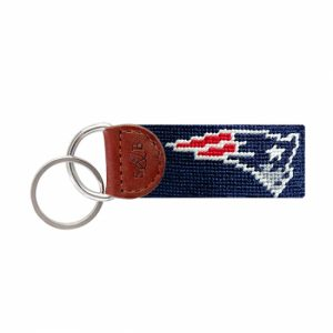 Smathers & Branson New England Patriots Key Fob