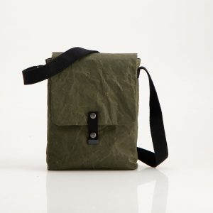 Wren Racing Paper Sling Bag in Green