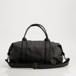 Wren Paper Travel Duffel Bag in Black