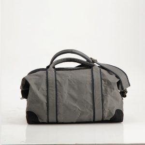 Wren Paper Travel Duffel Bag in Gunmetal