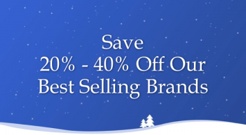 Holiday Savings on Our Best Brands
