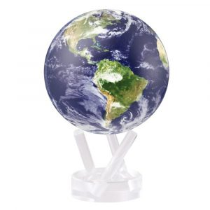 Mova Globe 4.5″ Earth with Clouds with Acrylic Base