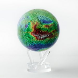 Mova Globe 4.5 Vesta Asteroid with Acrylic Base