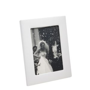 Graphic Image 5″ x 7″ Studio Frame Wedding in White