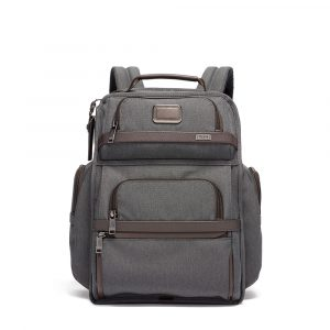 Tumi Alpha 3 Brief Pack in Anthracite