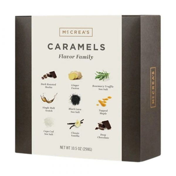 McCrea's Candies Caramels Flavor Family Box
