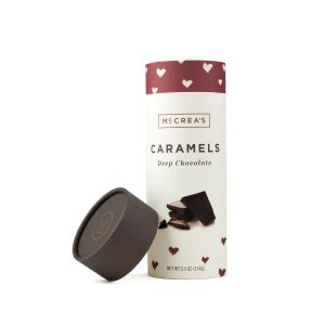 McCrea's Candies Caramels Deep Chocolate Tube
