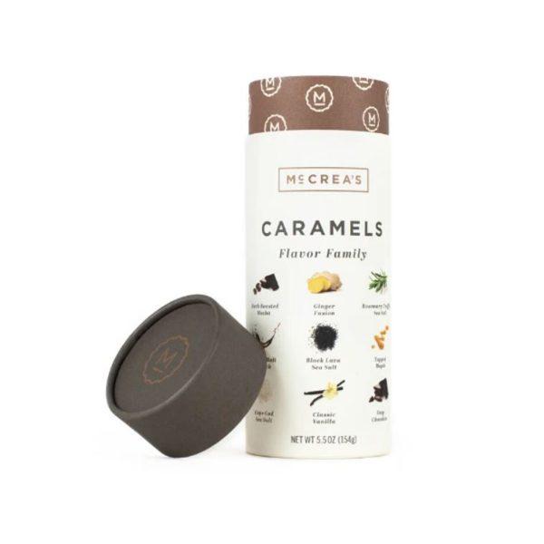 McCrea's Candies Caramels Flavor Family Tube