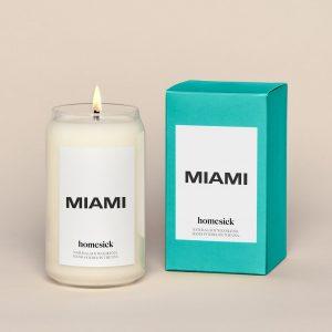 Homesick Miami Candle