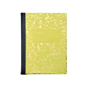 Graphic Image Composition Notebook in Yellow