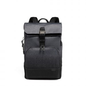 Tumi Harrison Osborn Roll Top Backpack in Charcoal Ombre