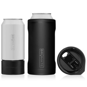 Brumate Hopsulator Trio 3-IN-1 Cool Can – Matte Black