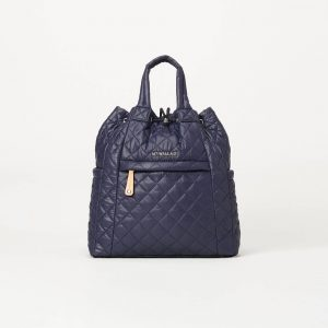 MZ Wallace Small Metro Convertible Backpack in Dawn