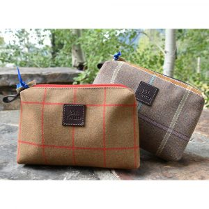 J&L Tweed Douglas Toiletries Bag