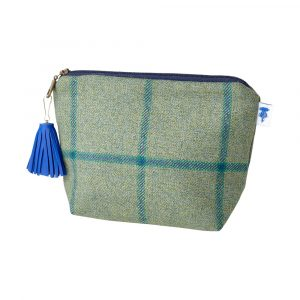 J&L Tweed Small Walker Makeup Bag