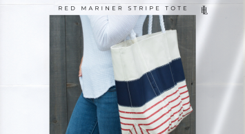 Seabags Red Mariner Stripe Collection