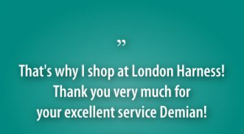 Why I shop at London Harness