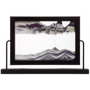 Moving Sand Art Window Black – By Klaus Bosch