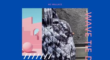 Wave Tie Dye by MZ Wallace