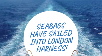 Seabags have sailed into London Harness – nautically inspired tote bags