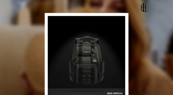 TUMI Alpha Bravo Paratrooper 2-in-1 Backpack.