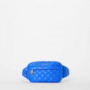 MZ Wallace Metro Belt Bag in Bright Blue