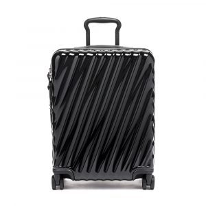 Tumi 19 Degree Continental Expandable 4 Wheeled Carry On in Black