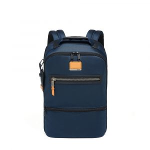 Tumi Alpha Bravo Essential Backpack in Navy