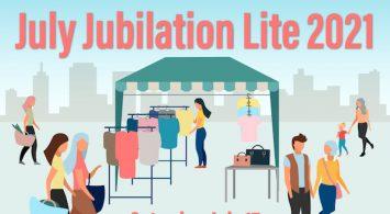 July Jubilation Lite 2021 is Saturday, July 17