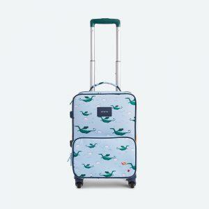 State Bags Mini Logan Suitcase in Dragons