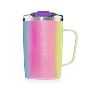 Brumate Toddy Mug 16oz – Glitter Rainbow