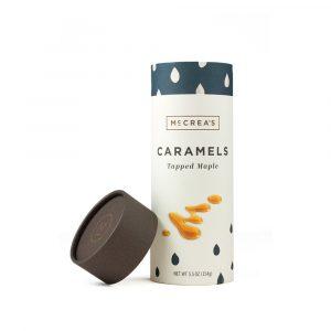 McCrea's Carmels Tapped Maple Tube